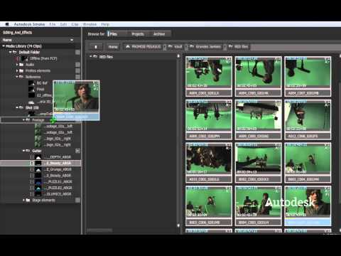 Autodesk Smoke: Video Editing and Effects—Connected Like Never Before