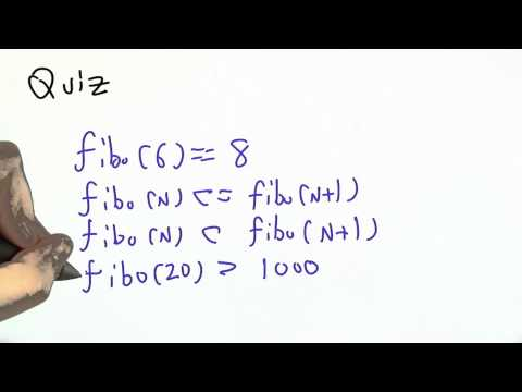 Recursive Definition - CS262 Unit 4 - Udacity