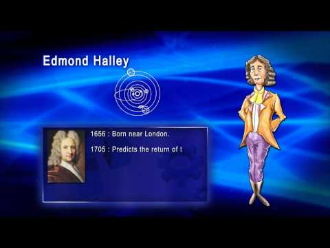 Top 100 Greatest Scientist in History For Kids(Preschool) - EDMOND HALLEY