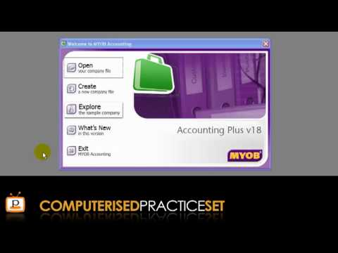 MYOB accounting tutorial: Getting started in MYOB
