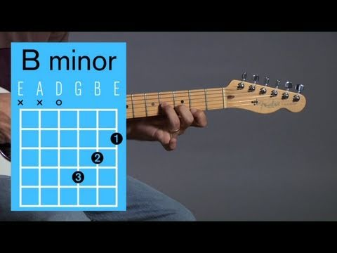 How to Play Guitar: Beginners / Open Chords: B Minor
