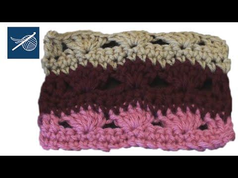 Sea Breeze Crochet Pattern Stitch Left Hand Version