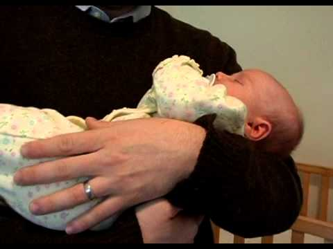 How to Hold a Baby Safely