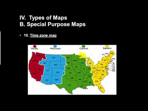 Types of Maps Part 2
