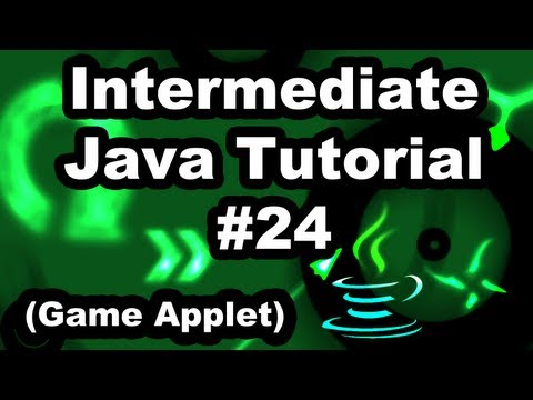 Learn Java 2.24- Game Applet- Score and Graphic Fonts