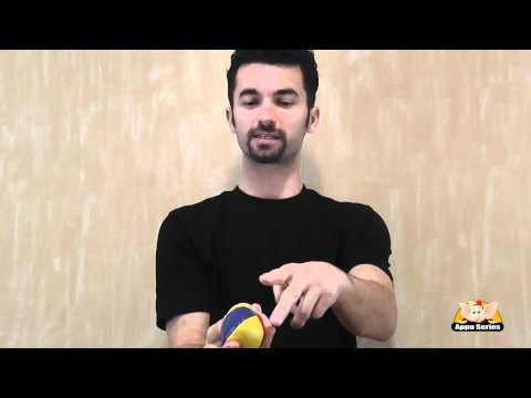 Basic Juggling Trick - Using two balls with one hand