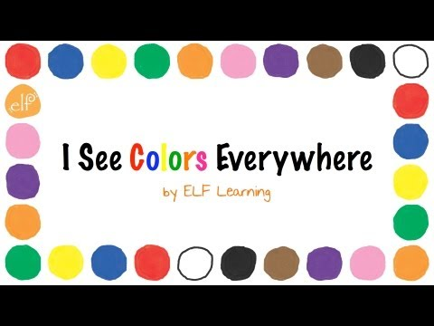 Colors Song (CD) - by ELF Learning