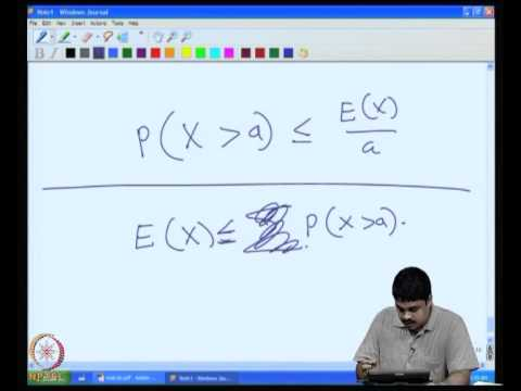Mod-06 Lec-36 Probabilistic method: Markov's inequality, Ramsey number