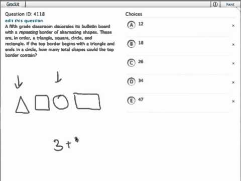 Grockit GMAT Quantitative - Problem Solving: Question 4118