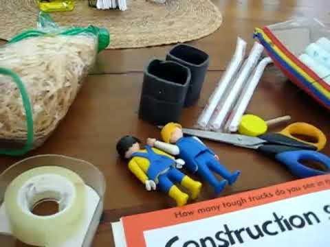 Preschool - Social Studies. Construction site1