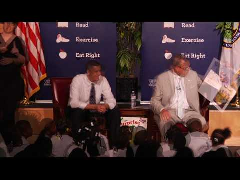 Ray LaHood Joins Arne Duncan for Let's Read. Let's Move.