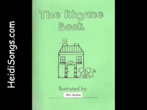 The Rhyme Song Book - Classroom Book Project