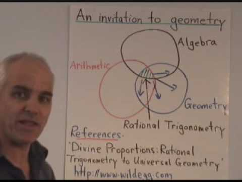 WildTrig0: An Invitation to Geometry: the WildTrig series