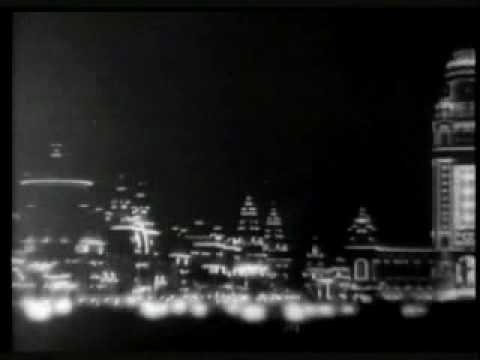 Panorama of esplanade by night