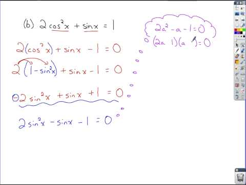 Trigonometry - Review of Finding Inverses and Solving Trig Equations