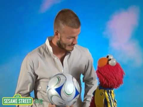 Sesame Street: Backstage With Elmo & David Beckham