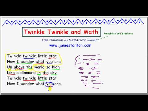 Twinkle Twinkle and Math (TANTON Mathematics)