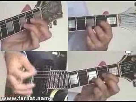 Nothing Else Matters Metallica Guitar Cover part 4 www,FarhatGuitar.com