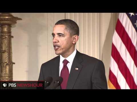 Obama Declares U.S. Support for Multilateral Action in Libya