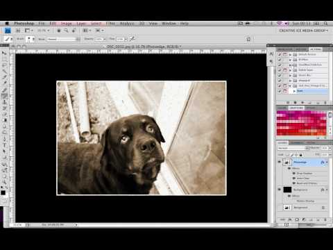 Photoshop Tutorials [HD] : How to use and create actions