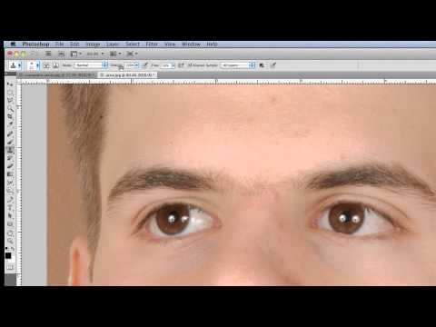 Photoshop Tutorial - Remove Acne