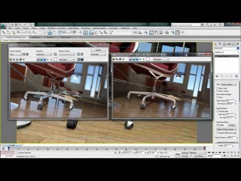 Quicksilver Hardware Renderer — 3ds Max Design 2011 New Features