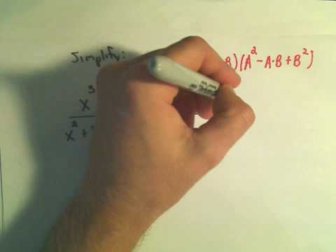 Rational Expressions: Writing in Lowest Terms - Ex 2