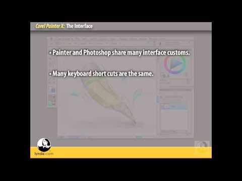 Painter, Wacom: Understanding the Painter interface | lynda.com