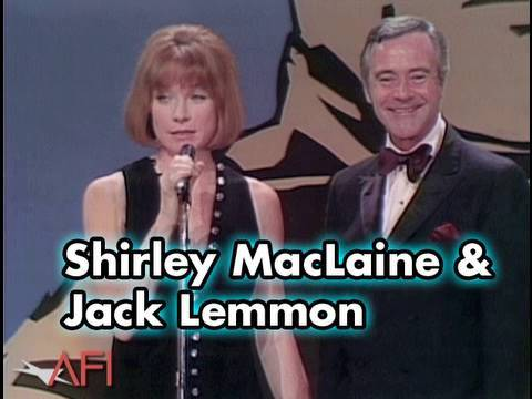 Shirley MacLaine and Jack Lemmon Salute James Cagney at the AFI LIfe Achievement Award