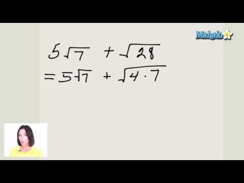 Working with More Advanced Radical Expressions (ex.1)