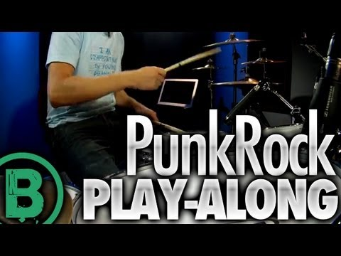 Punk Rock - Drum Play-Along