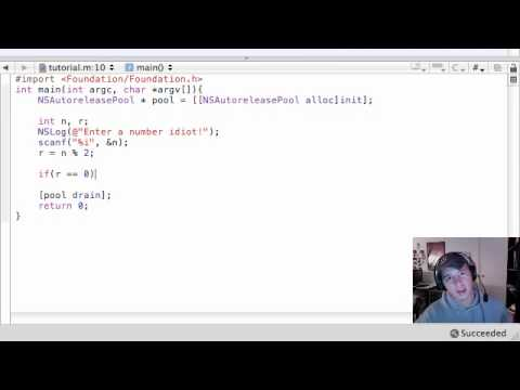 Objective C Programming Tutorial - 18 - Useful if else Program