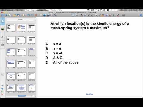 Simple Harmonic Motion Presentation #17