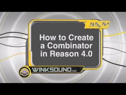 Propellerhead Reason: How to Create a Combinator | WinkSound