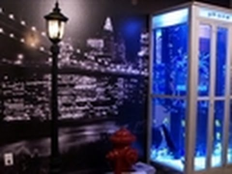 Tanked - NYC Phone Booth Aquarium