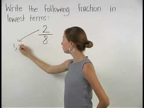 Reducing Fractions to Lowest Terms - YourTeacher.com