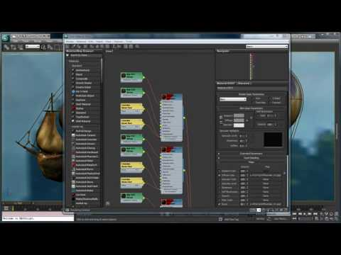 Slate Material Editor — 3ds Max 2011 New Features