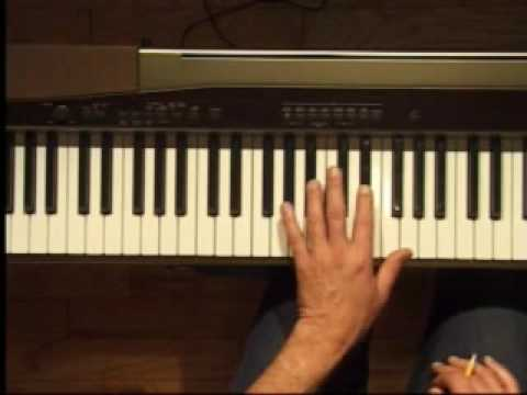 Piano Lesson - Eb Major Triad Inversions (Left Hand)