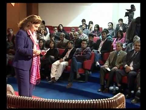 TEDxHUP -- Nina Maria Fite -- Pakistani Dreams @ Hajvery University