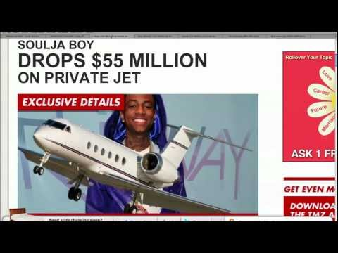 Soulja Boy Buys $55 Mil Private Jet