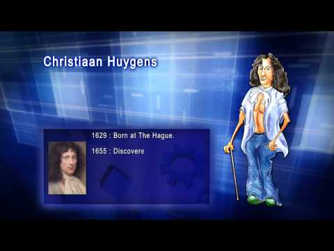 Top 100 Greatest Scientist in History For Kids(Preschool) - CHRISTIAAN HUYGENS