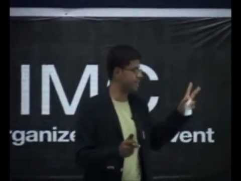 The power of intentions: Myshkin Ingawale at TEDxIIMC
