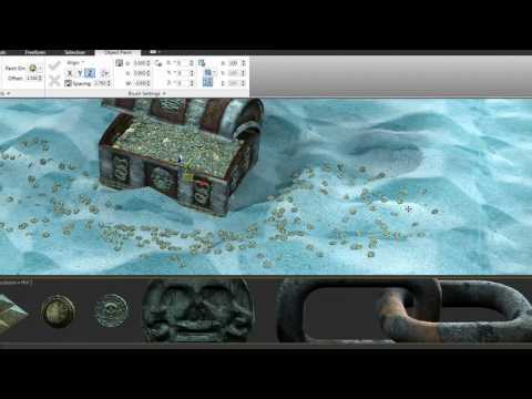 Object Paint — 3ds Max 2011 New Features