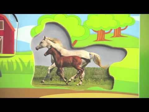 PBS KIDS Toys | Explore the Farm: 3-Layer Puzzle