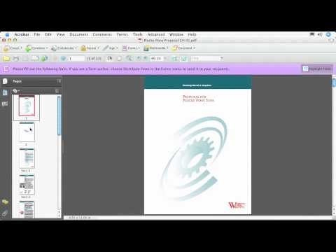 Total Training for Adobe Acrobat 9 Pro Ch1. THE INTERFACE L3. Common Toolbar Options