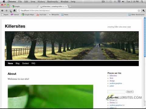 Wordpress Using Dreamweaver - Modifying The Background In Dreamweaver