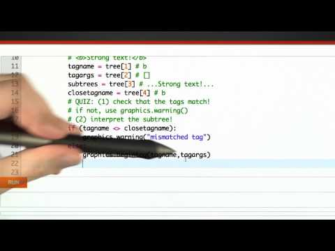 Writing An Interpreter Solution - CS262 Unit 5 - Udacity