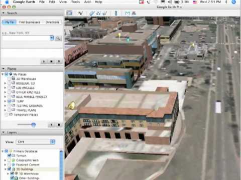 The Sketchup Show #9: MW 2007,Google Earth & 3D Warehouse