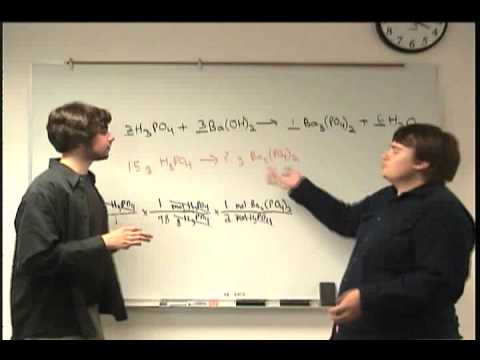 Stoichiometry Part One