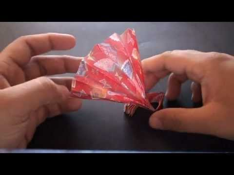 Origami Daily - 380: Hand Fan (Kids Origami) - TCGames [HD]